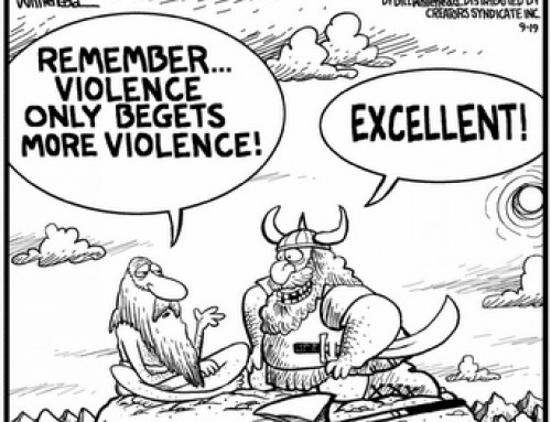 Violent Pacifists & Peaceful Soldiers